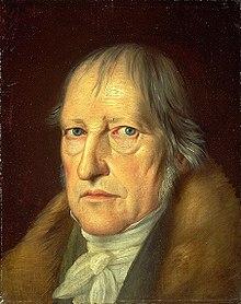 Georg Hegel (1770 –1831)