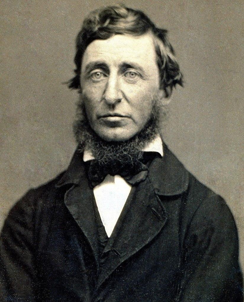 Henry David Thoreau (1817 –1862)