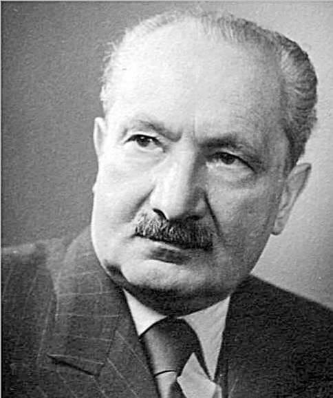 Martin Heidegger (1889 –1976)